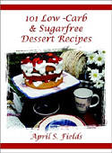 101 Low-Carb & Sugarfree Dessert Recipes