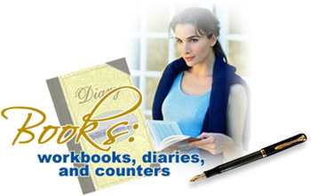 Low Carb Luxury: Workbooks, Diaries and Counters