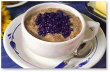 Home Bistro Hot Cereal with Blueberries