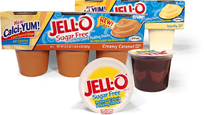 Jell-O Sugar Free Puddings