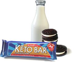 Keto Cookies and Creme Bars