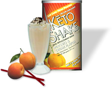 Keto Peaches and Cream Shake