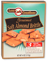 Low Carb Creations Almond Brittle