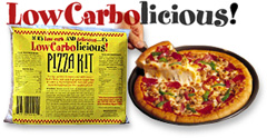 Low Carbolicious Pizza