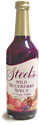 Steel's Gourmet Wild Blueberry Syrup
