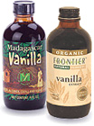 Frontier and Madagascar Brands Pure Vanilla Extract