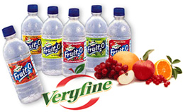 Very Fine Fruit 2 O Drinks